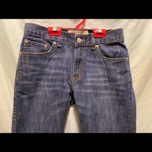 Levi's 514 youth athletic fit 14 27x27 jeans